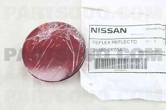 Отражатель в задний бампер NISSAN QASHQAI 06-13 RH Актобе