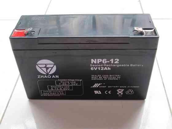 Аккумулятор фиксированный 6v12ah доставка из г.Актобе