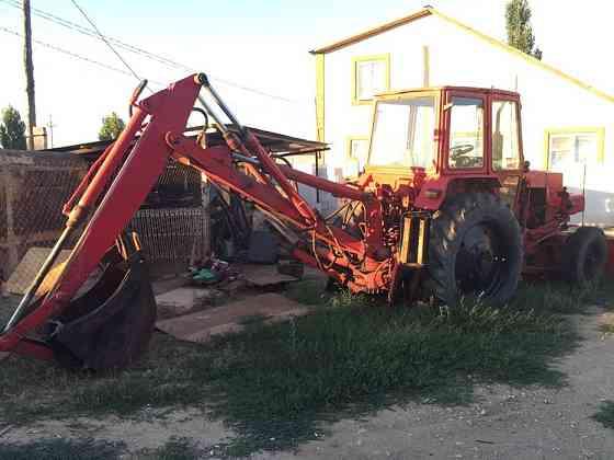 Трактор эксковатор юмз в отличном состоянии Актобе