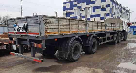 Продам тягач Камаз 6460 с полуприцепом МАЗ 938660 Уральск