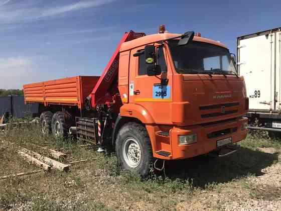 Продам Камаз 43118 с кму (манипулятор Актобе